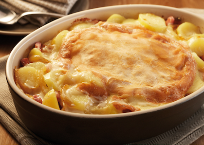 Percy lunch tartiflette