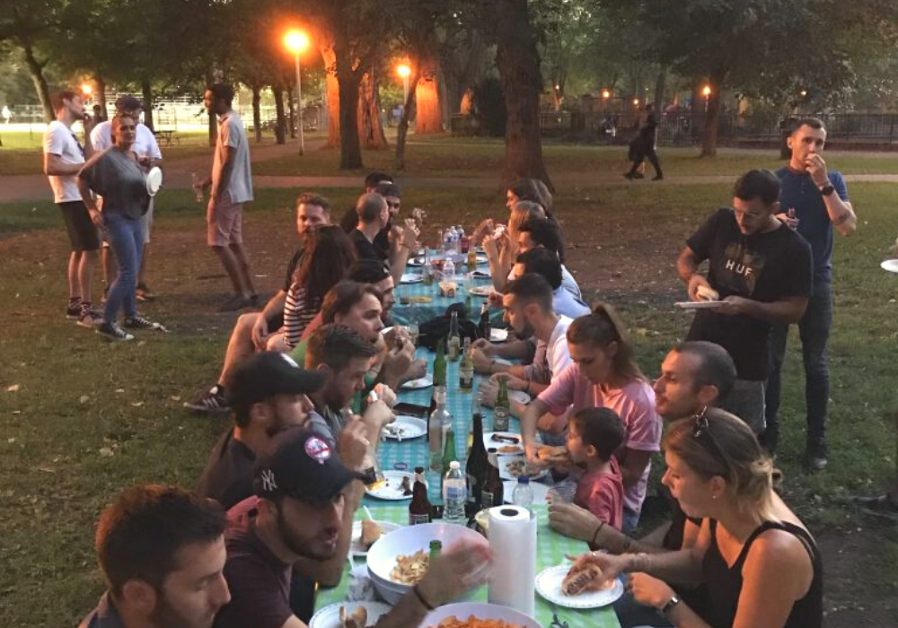 Photo après midi Percy Miller au parc la fontaine